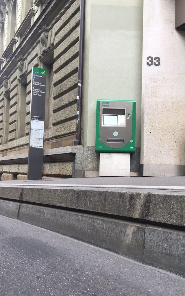 Kaphaltestellen Basel BVB