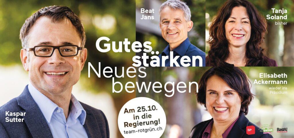 #TeamRotGrün SP Grüne Kaspar Sutter